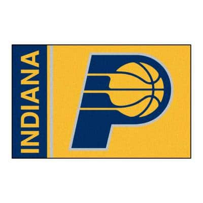 NBA Indiana Pacers Gold 2 ft. x 3 ft. Area Rug