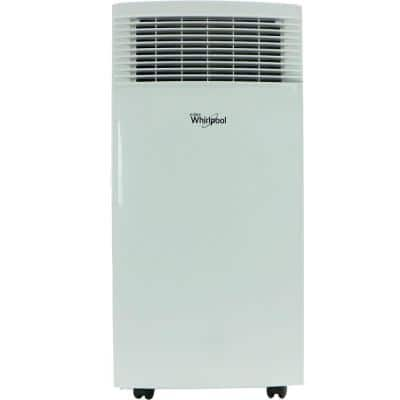 8000 BTU (4000 BTU DOE) Portable Air Conditioner with Dehumidifier and Remote in White