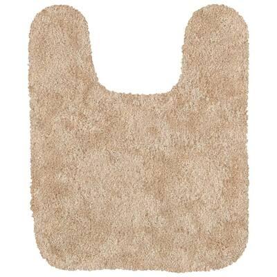 Acclaim Sand 20 in. x 24 in. Nylon Machine Washable Bath Mat