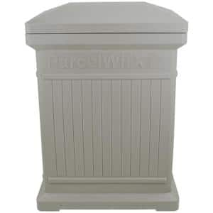 ParcelWirx Prestige Pewter Vertical Package Delivery Box
