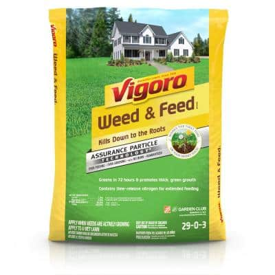 44 lb. 15,000 sq. ft. All Season Weed and Feed Lawn Fertilizer