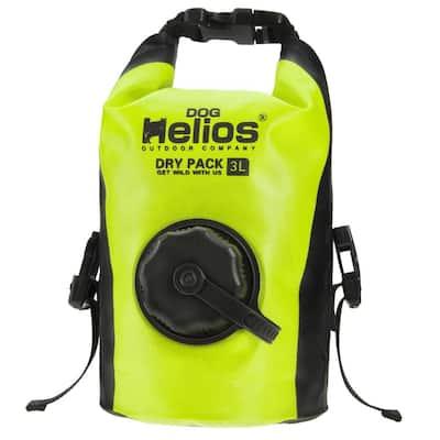 3 l Yellow Grazer Waterproof Outdoor Travel Dry Food Dispenser Bag