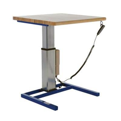 36 in. x 36 in Linear Actuated Adjustable Height Workstation
