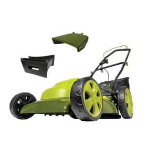 Mow Joe 20 in. 12 Amp Corded Electric Walk Behind Push Lawn Mower
