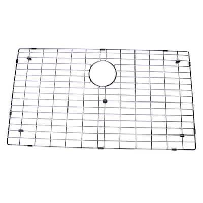 17 in. x 29.5 in. Bottom Sink Grid in Stainless Steel