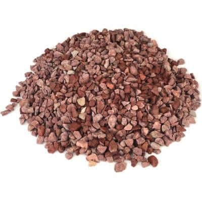 Margo Garden Products 12 cu. ft., 0.4 cu. ft. 3/8 in. Red Gravel (30-Bags/Covers)