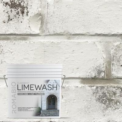 0.67 Gal. Avorio White Limewash Interior/Exterior Paint