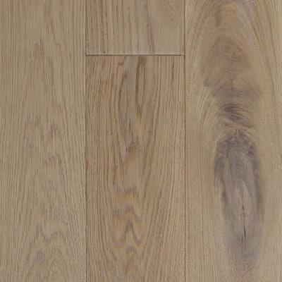 Take Home Sample - Castlebury Wimborne European Sawn White Oak Click Engineered Flooring - 5 in. x 7 in.