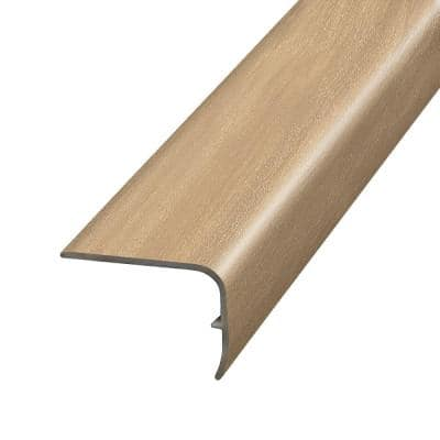 Harrier Fruitwood 1.32 in. T x 1.88 in. W x 78.7 in. L Vinyl Stair Nose Molding