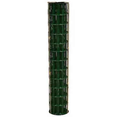 36 in. x 100 ft. 14-Gauge Green Welded Wire