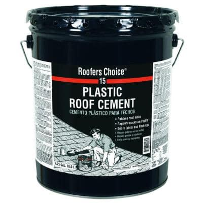 4.75 Gal. Plastic Roof Sealant Cement