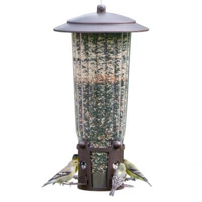 Squirrel-Be-Gone Max Squirrel Proof Bird Feeder - 4 lb. Capacity