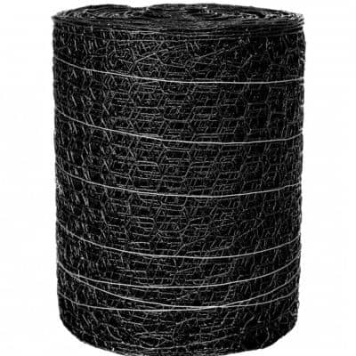 150 ft. x 24 in. Black PVC Poultry Netting