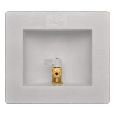 1/2 in. Push-to-Connect Brass Ice Maker Outlet Box