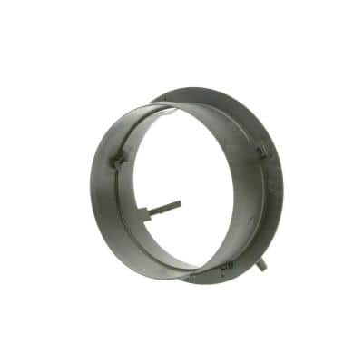 10 in. Take Off Start Collar without Damper for HVAC Duct Work Connections