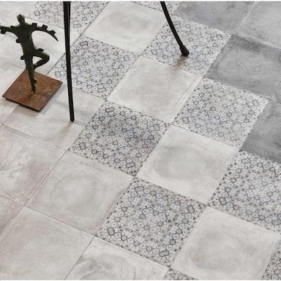 Maranello White 8 in. x 8 in. Glazed Porcelain Floor and Wall Tile (7 sq. ft./Case)