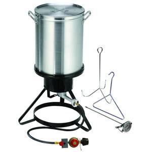 30 Qt. Propane Gas Outdoor Turkey Fryer Kit