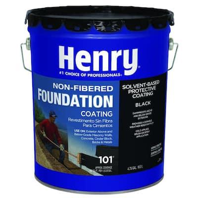 4.75 Gal. 101 Non-fibered Foundation Coating