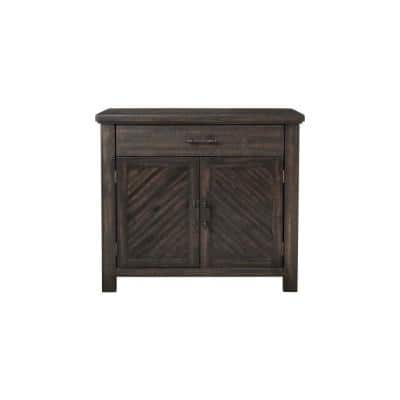 Gray Paige Accent Chest