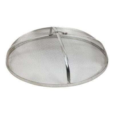 30 in. Stainless Steel Fire Pit Spark Screen