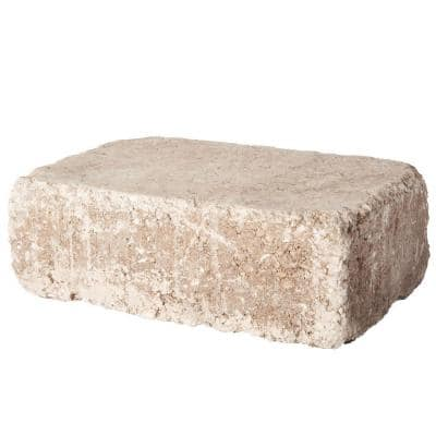 RumbleStone Large 3.5 in. x 10.5 in. x 7 in. Cafe Concrete Garden Wall Block (96 Pcs. / 24.5 Face ft. / Pallet)