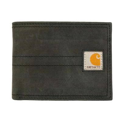 Mens Leather Black Legacy Passcase Wallet