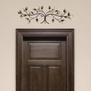 Over the Door Blowing Leaves Wall Decor