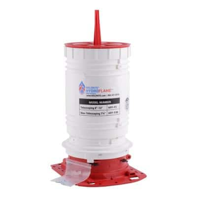 HydroFlame Pro 1.25 in. to 2 in. x 8 in. to 12 in. H Telescoping Firestop Sleeve
