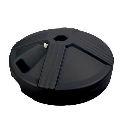 US Weight Fillable Umbrella Base Designed to be Used with a Patio Table in Black