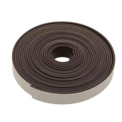 1/2 in. x 30 in. Iron Ferrite Self-Adhesive Magnetic Strip