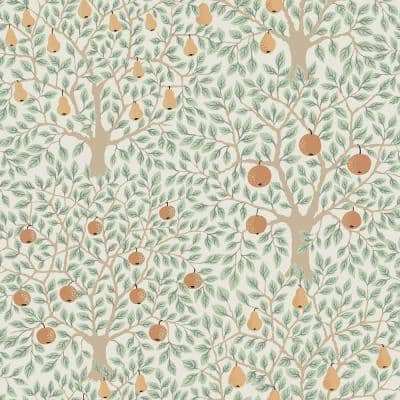Pomona Multicolor Fruit Tree Paper Strippable Roll (Covers 56.4 sq. ft.)