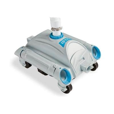 2100 GPH Above Ground Pool Sand Filter Pump with Automatic Pool Vacuum