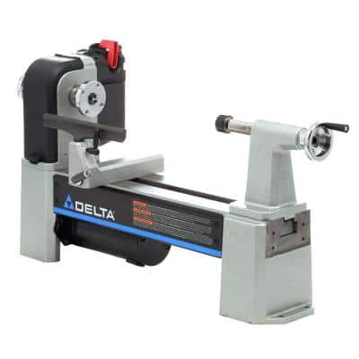 12-1/2 in. Mini- Wood Lathe with Variable Speed
