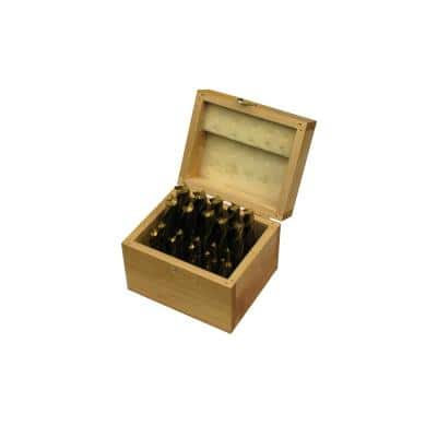 Tin Coated Single End Mill Set (20-Piece)