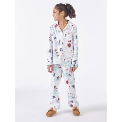 Family Flannel Company Cotton™ Kid's Pajama Set in Snowy Fun Friends