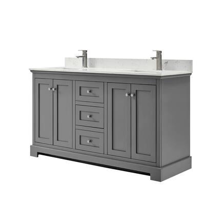60 Inch Vanities Double Sink Bathroom Vanities Bath The Home Depot