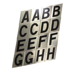 2 in. Aluminum Reflective Letter Set