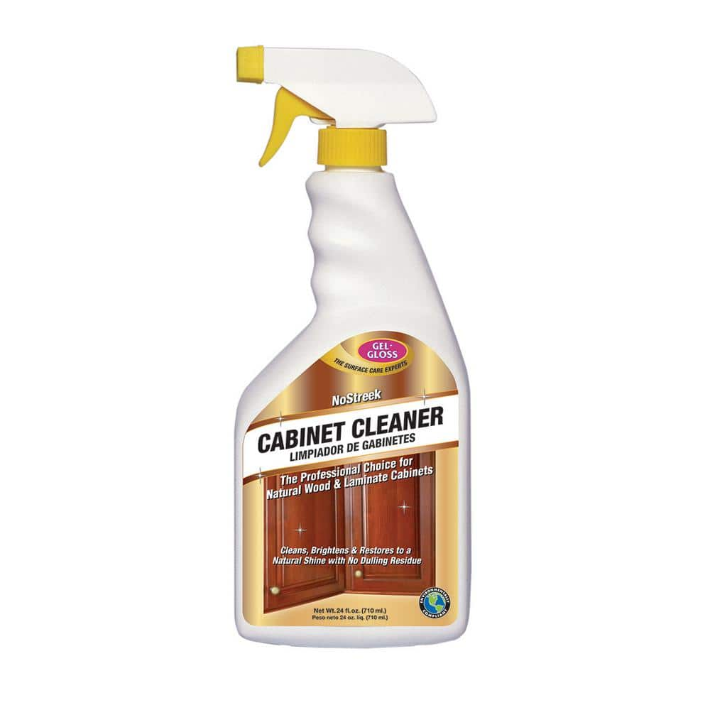 Gel Gloss Cabinet Cleaner 24 Oz Cc 24 The Home Depot