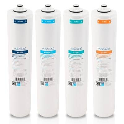 Premier 75 GPD Reverse Osmosis Complete 4 Stages Water Filter Cartridge