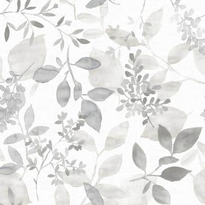 Grey Breezy Grey Wallpaper Sample