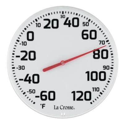 8 in. Round Dial Thermometer