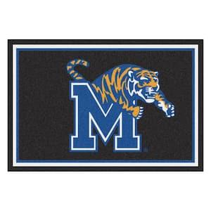 NCAA - Liberty University Blue 8 ft. x 5 ft. Indoor Area Rug