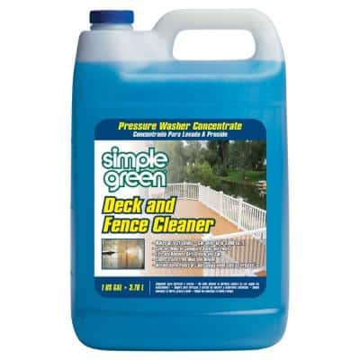 128 oz. Deck and Fence Cleaner Pressure Washer Concentrate