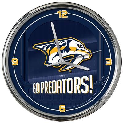 The Memory Company Nhl Go Team Chrome Predators Clock Nhl Npr 1739 The Home Depot