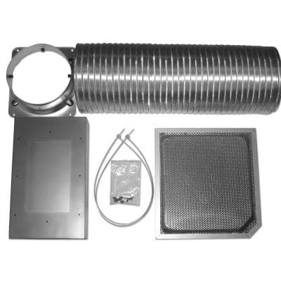 Non-Ducted Recirculation Kit for Glass Canopy Islands Models AN-1412 and AN-1460