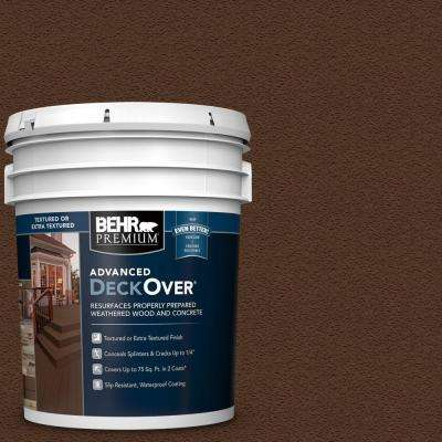 5 gal. #SC-117 Russet Textured Solid Color Exterior Wood and Concrete Coating