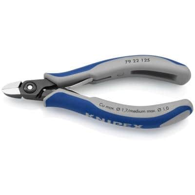 5 in. Precision Electronics Diagonal Cutters with Comfort Grip Handles