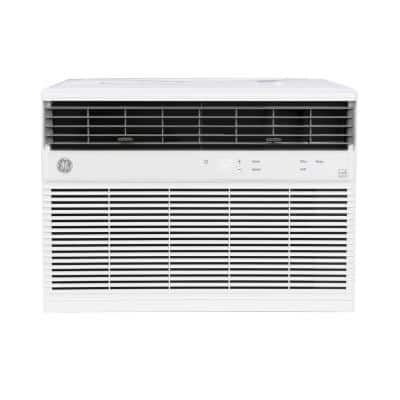 14,000 BTU 115-Volt Smart  Window Air Conditioner with WiFi and Remote in White, ENERGY STAR