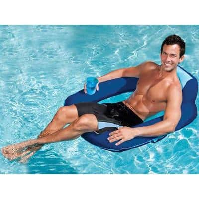 Spring Float SunSeat Floating Pool Lounge Chair (3-Pack)