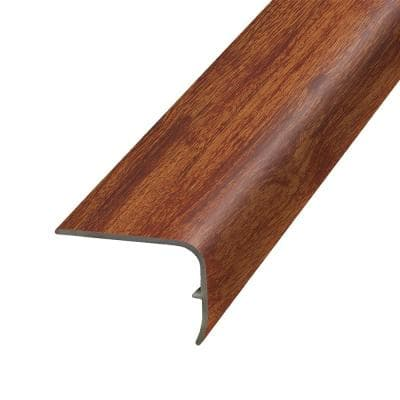 Brick 1.32 in. Thick x 1.88 in. Wide x 78.7 in. Length Vinyl Stair Nose Molding